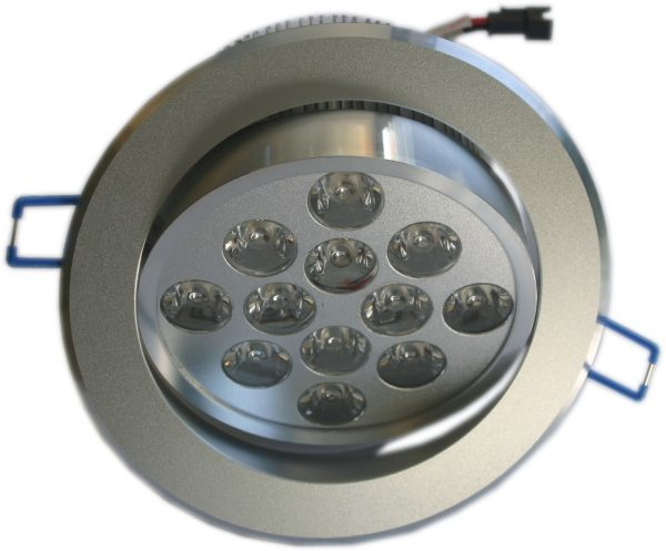 Spot 12*1watts à led encastrable