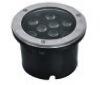 Spot encastrable au sol de 9*1 watts, pour éclairage et signalisation