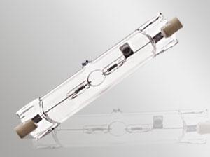 Ampoule R7S de 50 watts halogénure métallique simple