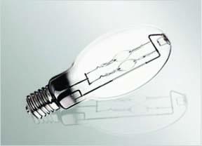 Ampoule E27/E40 de 50 watts halogénure métallique Double