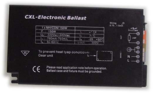 Ballast électronique de 150 watts