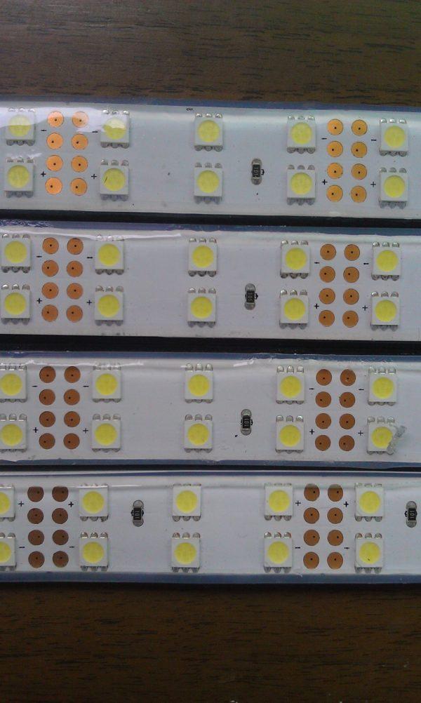Ruban à led Double de 120 led SMD 5050 par 5 mètres