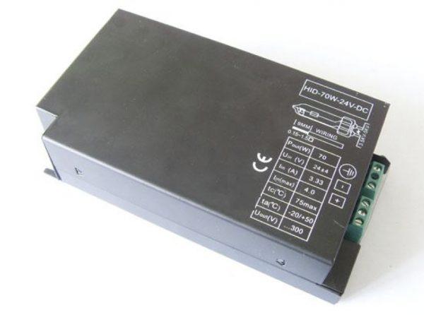 Ballast électronique de 35 watts pour ampoules a décharge 12 et 24 volts