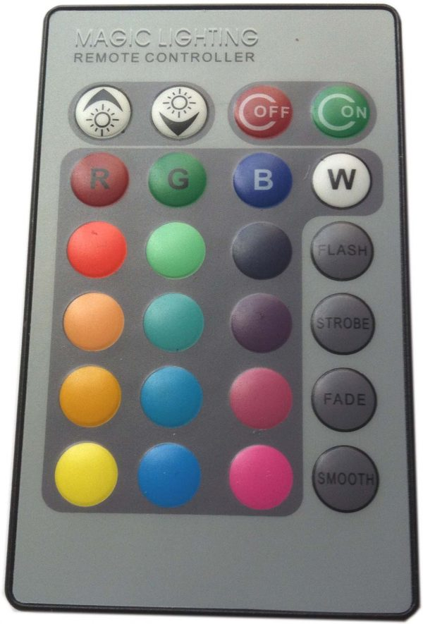Ampoule E27-3 watts à led RVB 16 couleurs