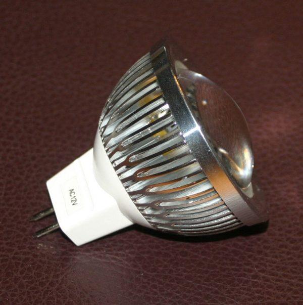 Ampoule MR16 3 watts - 60 degrés