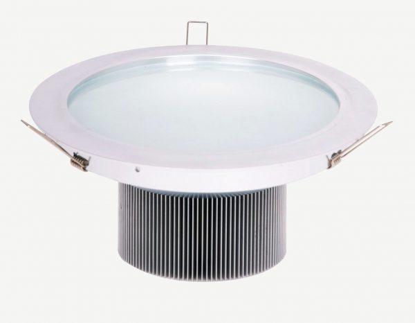 Plafonnier encastrable a led de 24 watts. remplace un bloc de deux G24 et plus