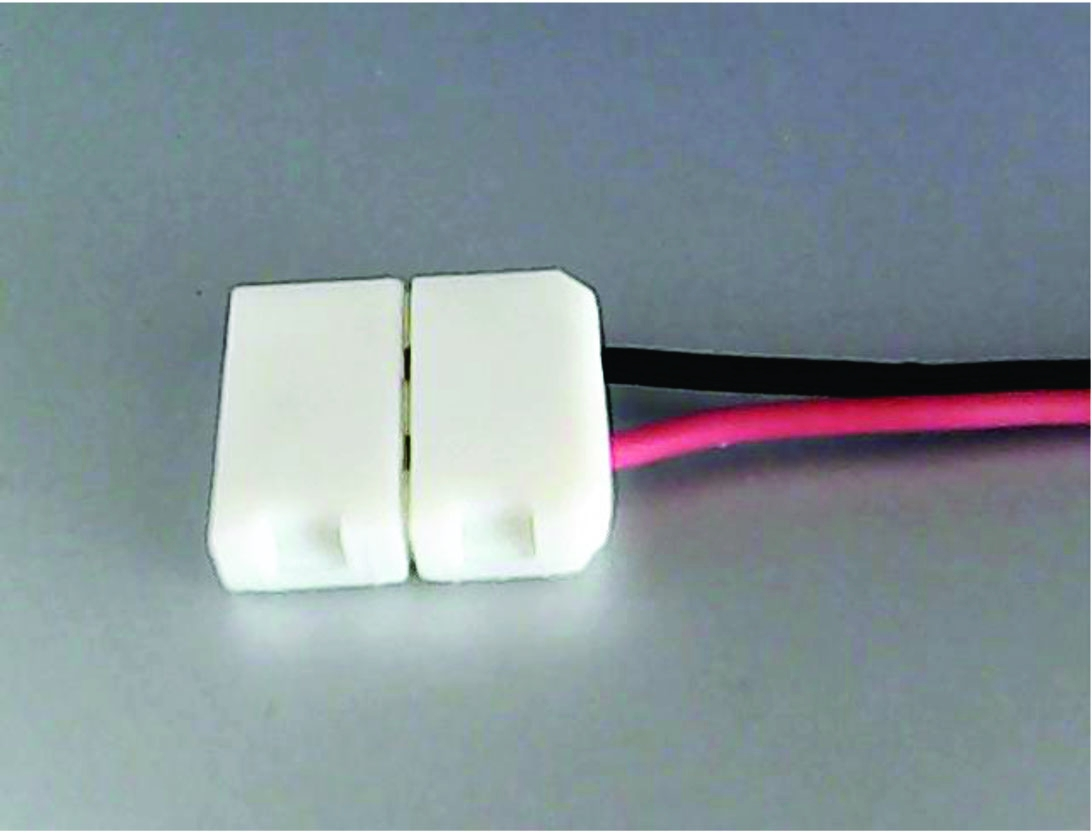 Connection pour ruban à led simple