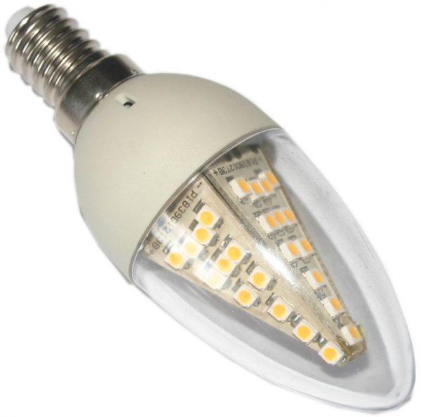 Ampoule à led E14 en verre dimmable