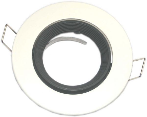 Support encastrable pour GU10 et MR16 orientable Black