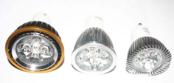 Ampoule GU10 5,6 watts - Par 20